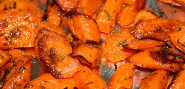 Roasted Carrots With Rosemary and Fennel – Mmmmmm!